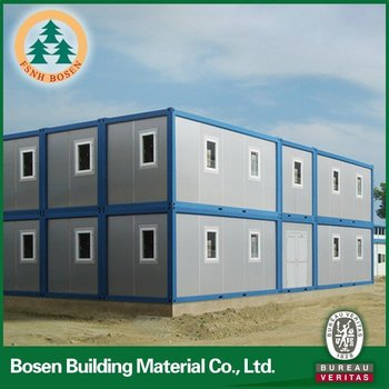 Customized recycling material for prefab container house