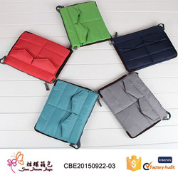 Factory custom fashion pouch & sleeve , for ipad tablet bag