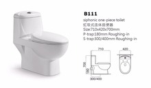 B111 Hot Sale Toilet Cleaner American Standard Toilet Supplier WC Toilet Tube Factory