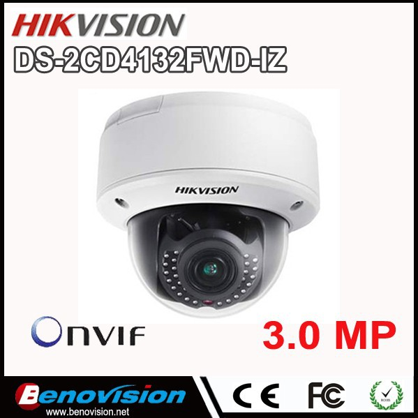 Smart 3MP WDR Indoor Dome Camera DS-2CD4132FWD-IZ Outdoor Wifi Hikvision IP Camera 1080P