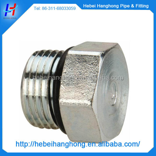 price galvanized male thread cast iron pipe plugs