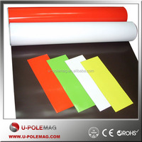 colourful pvc rubber magnets/rubber magnetic roll for sales