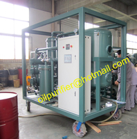 Vacuum Gear oil Purifier, Lube Oil Processing Filter machine for Cement Factory 3000Liters/Hour with PLC