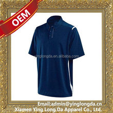 Quality useful oem tennis gent polo shirt