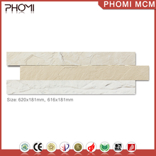 Anti-Slip Modified Clay Artificial Engineered Stone Wall Panel