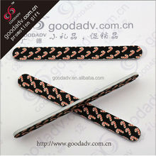 Promotional cheap price different fancy design high quality professional eva nail file