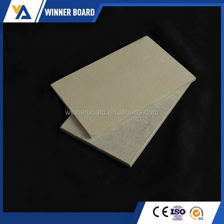 High quality faux marble wall panels UV decorative calcium silicate board for wall decoration