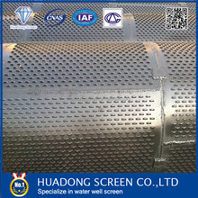 Large Diameter Bridge Slot Screen/wel drilling pipe used for agriculture