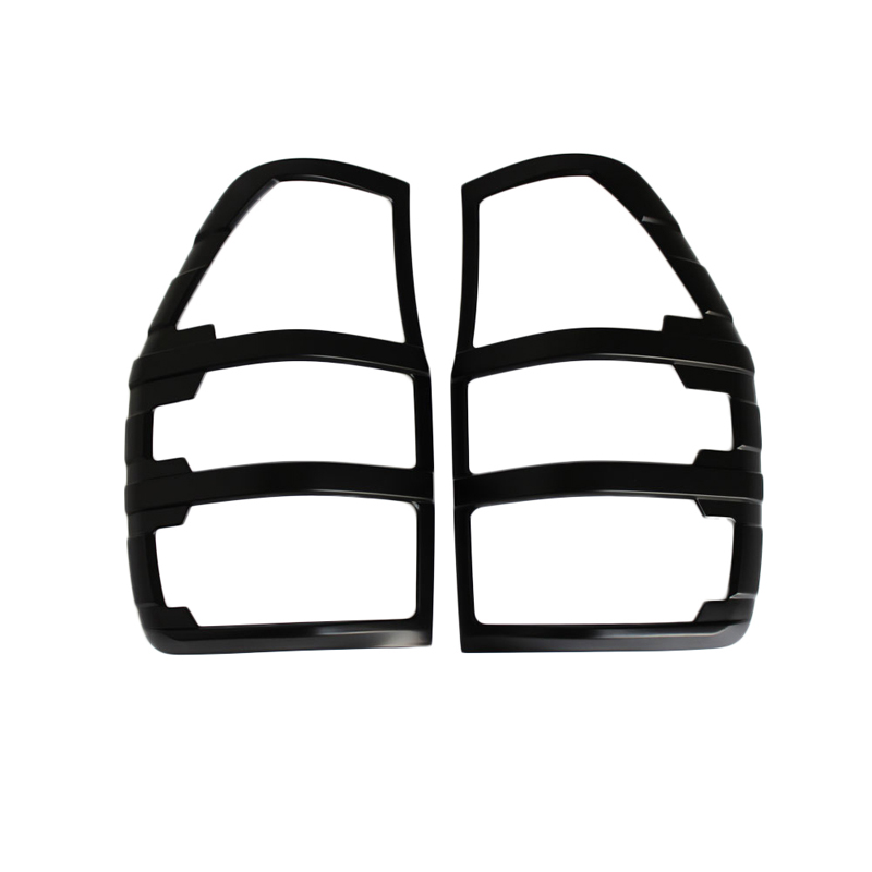 High Quality PX <strong>1</strong> & PX 2 Ranger ABS plastic Rear Tail Light Covers matte black tail light cover