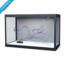 "21,5 ""LCD Transparent Werbung Display Box, Flexible Transparent Lcd Werbung Display"