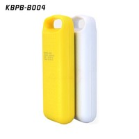 Pink /white /yellow color phone charger built-in battery 18650 battery