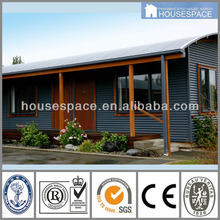 Low cost and Fast construction 80m2 prefab house plan