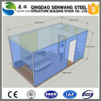 modern fast install container house
