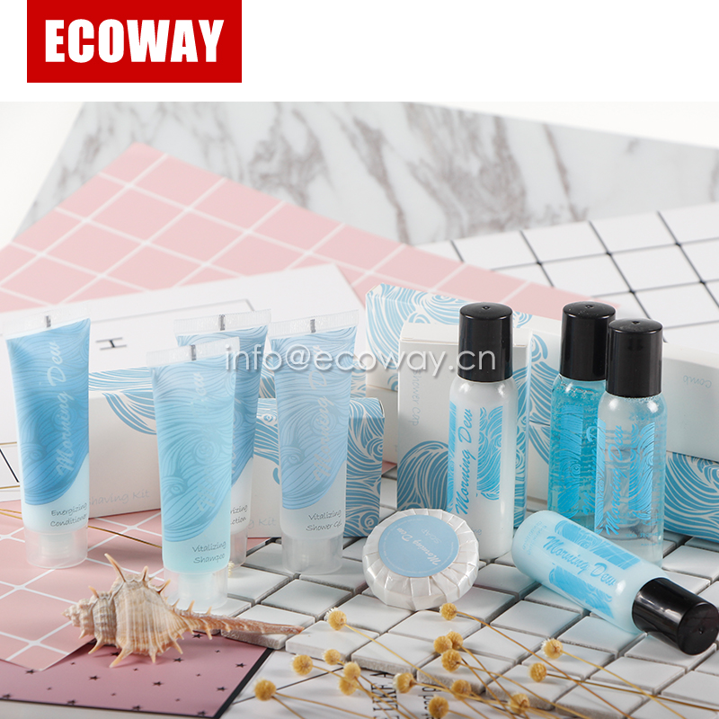 Factory sale high quality hotel amenities kit necessities
