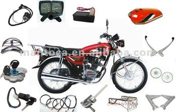 Motorcycle parts for CG125