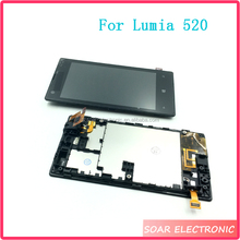 Mobile Phone Repair Parts Replacement For Nokia Lumia 520 LCD Display Digitizer