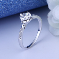 925 sterling silver white diamond engraved engagement ring price