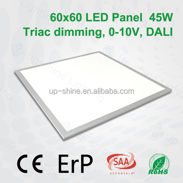 3300lm 45W hot europe market manufacture ultra-thin led recessed flat panel led light ficture