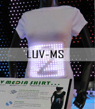 High Quality El T-shirt Sound Activated Flashing T Shirt