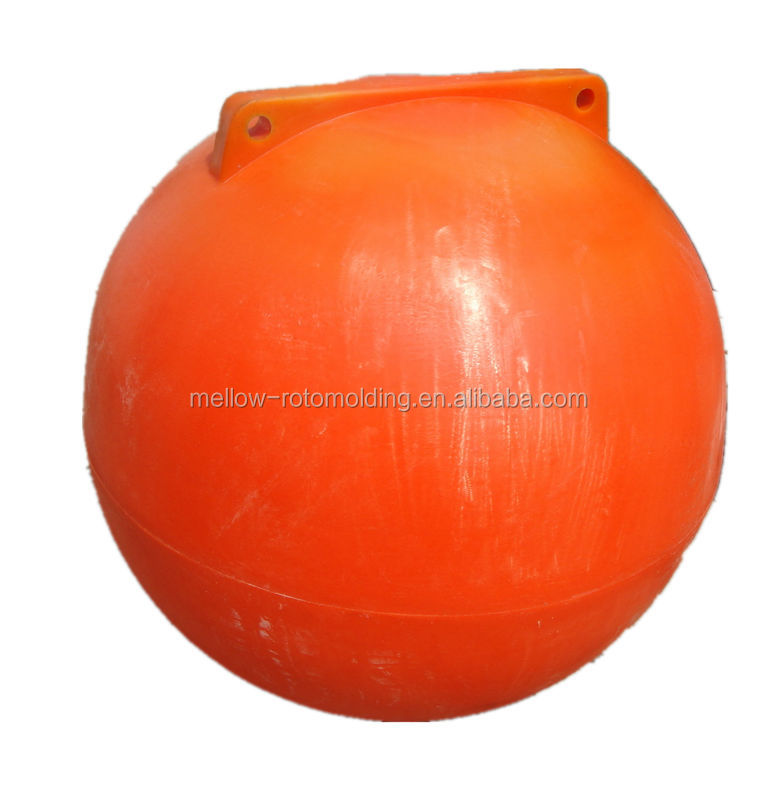 Durable seamless plastic hollow floating water ball
