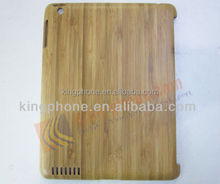 bamboo wood craft collectable gift wooden case for ipad 2/3