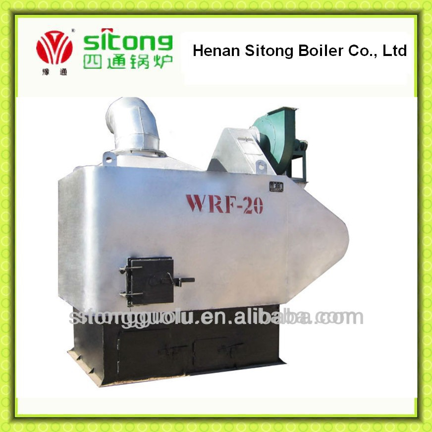 China wood pellet burning stove, hot air furnace for baking low price for factory directly sale