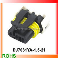 Deutsch 3 pins female waterproof auto wire harness connector