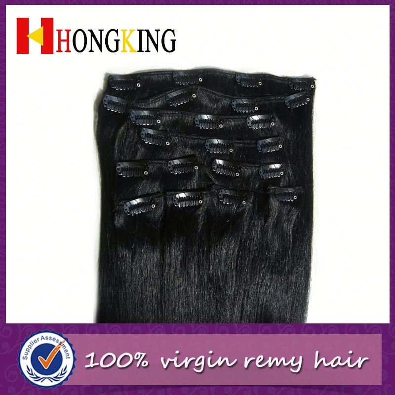 Clip In Hair Extension Full Head Set Qingdao