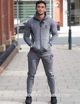 tech fleece tracksuit latest design tracksuit hoodie 70% cotton 30% polyester fleece lining hoodie tapered jogger pants men