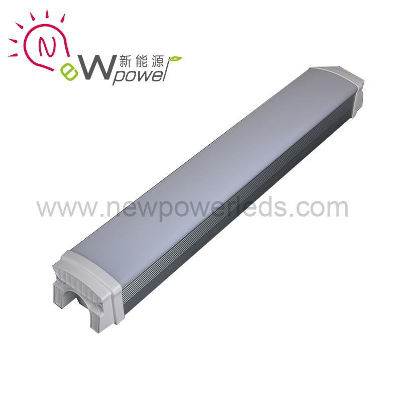 T1 50W 1200mm tri-proof led housing/batten ip65 tri explosion proof light