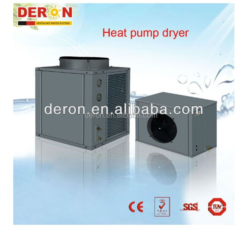 China Supplier Deron Air to Air Commercial Type Heat Pump Dryer For Tobacco Grain Fruit Tea Leaf Food