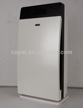 Quality air purifier with HEPA, activated carbon and patent washable tech
