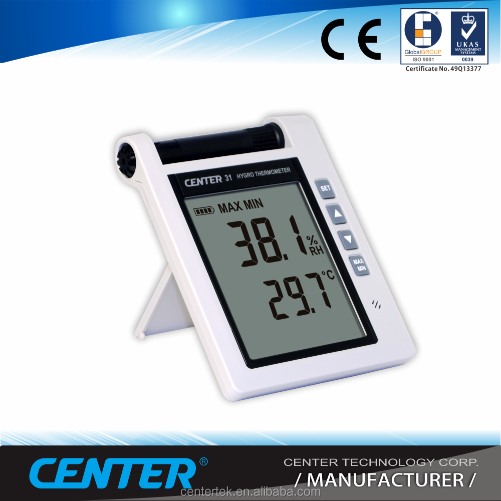 Digital multi Thermometer Hygrometer with alarm