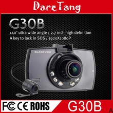 Best selling Double lens Car DVR auto dvr/car camera/dash camera dual lens G30