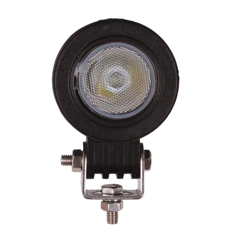 10W LED Work Light Truck ATV Offroad SUV 4x4 4WD Motorcycle Round LED Driving Fog Lights Flood Beam 12V 24V