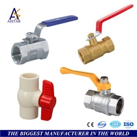 Hydraulic various 3 way ball valve butterfly gas valve