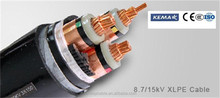 15KV Voltage XLPE Insulation Copper And Aluminium Armoured Power Cable