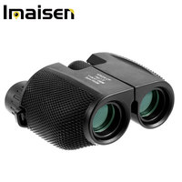 10x25 Binocular Telescope High Powered Waterproof Portable Compact Binoculars Low Light Night Vision with Fully Multi-CoatedLens