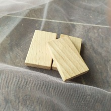 50*30mm Wood Domino pieces wooden rectangle pieces beech wood blank pieces