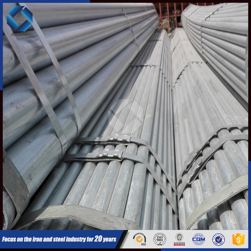 JUNNAN Hot Dip Galvanized Steel Pipe Manufacturers China,50mm Galvanized Steel Pipe Price
