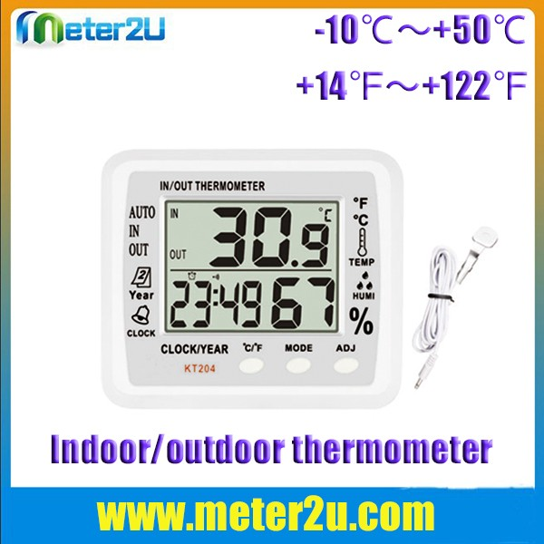China manufacturer decorative indoor outdoor thermometer KT204