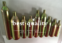 Manufacturer 33gr16gr17gr24gr38gr 60gr65gr cartridge CO2 gas Cylinder for inflatable life vest jacket