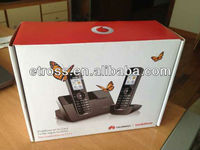 Low price! Whosale Huawei F111 Dect cordless telephone with 2 handsets