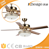 High Breeze Ceiling Fan And Light With Electrical Details