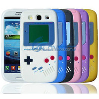 New arrival 3D game machine design silicon cell phone case for Samsung
