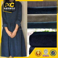 wholesale reactive dyed corduroy fabric for lady dresses