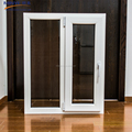 Shanghai cheap house pvc casement window