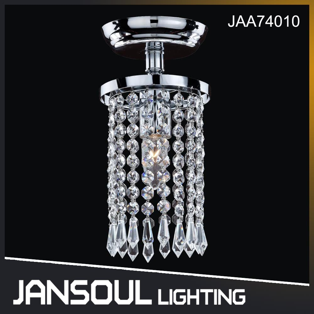 JANSOUL modern crystal drop ceiling chandelier light for home cafe