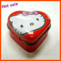 Factory direct mini heart shape tin can