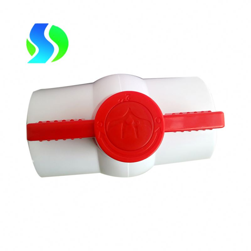 2 inch 50mm pvc ball valve threaded ends